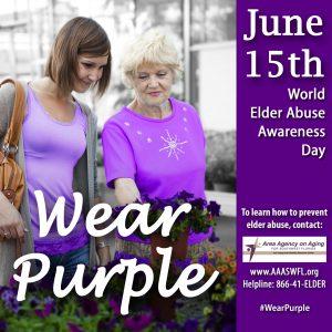 World Elder Abuse Awareness Day- June 15