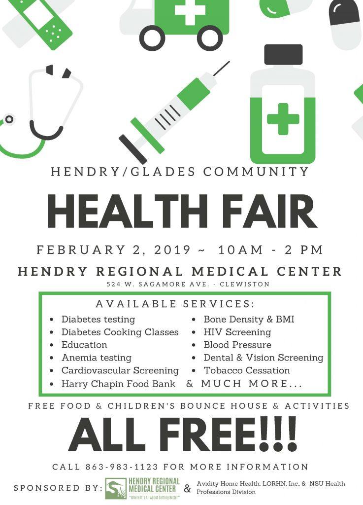 Hendry Glades Health Fair